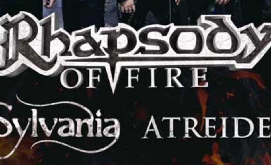 RHAPSODY OF FIRE + SYLVANIA + ATREIDES