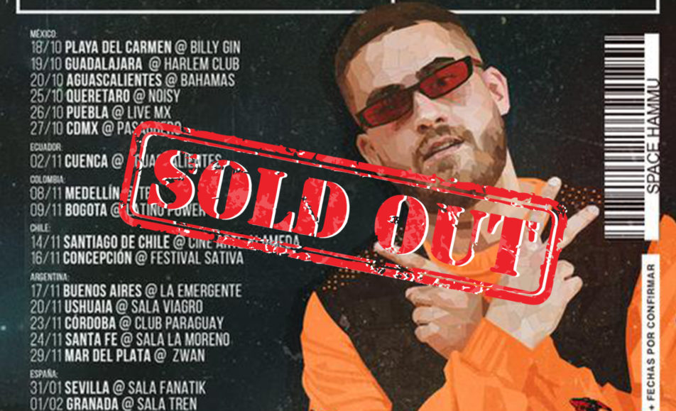 DELAOSSA EN CONCIERTO – Sold out!